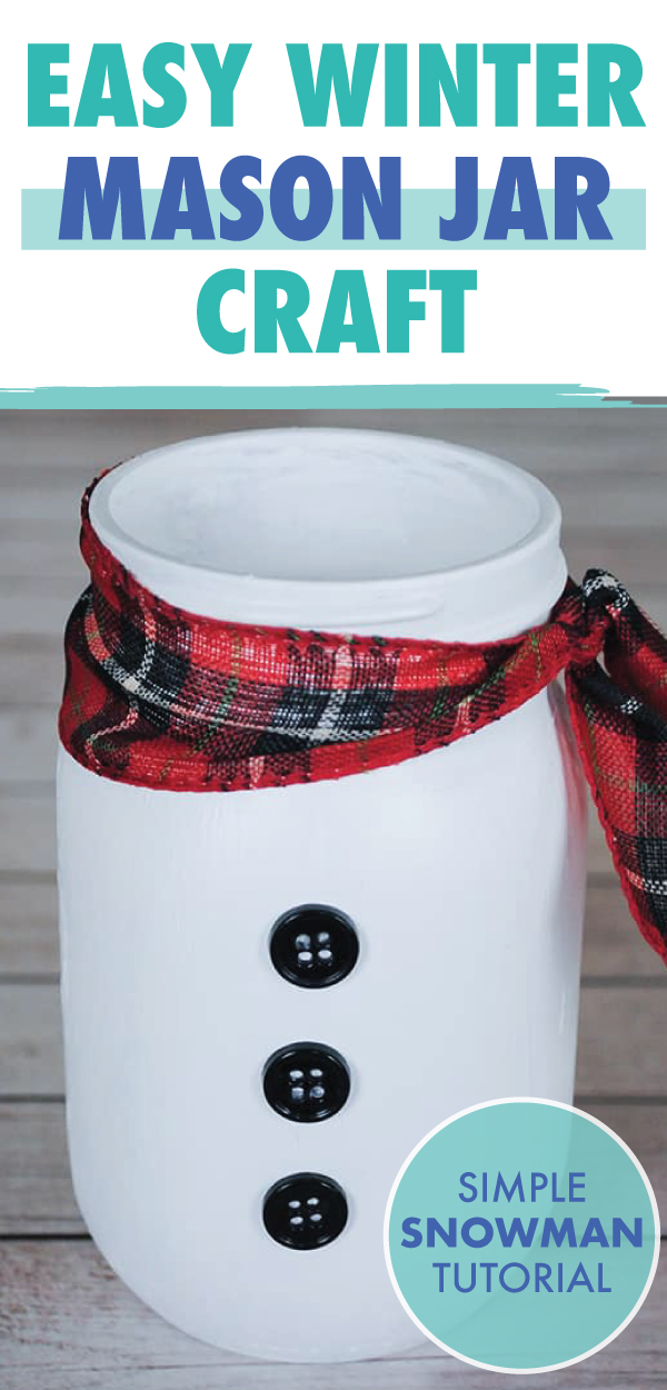 easy winter mason jar craft