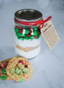 jar with cookies