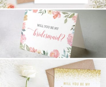 free printable bridesmaid cards