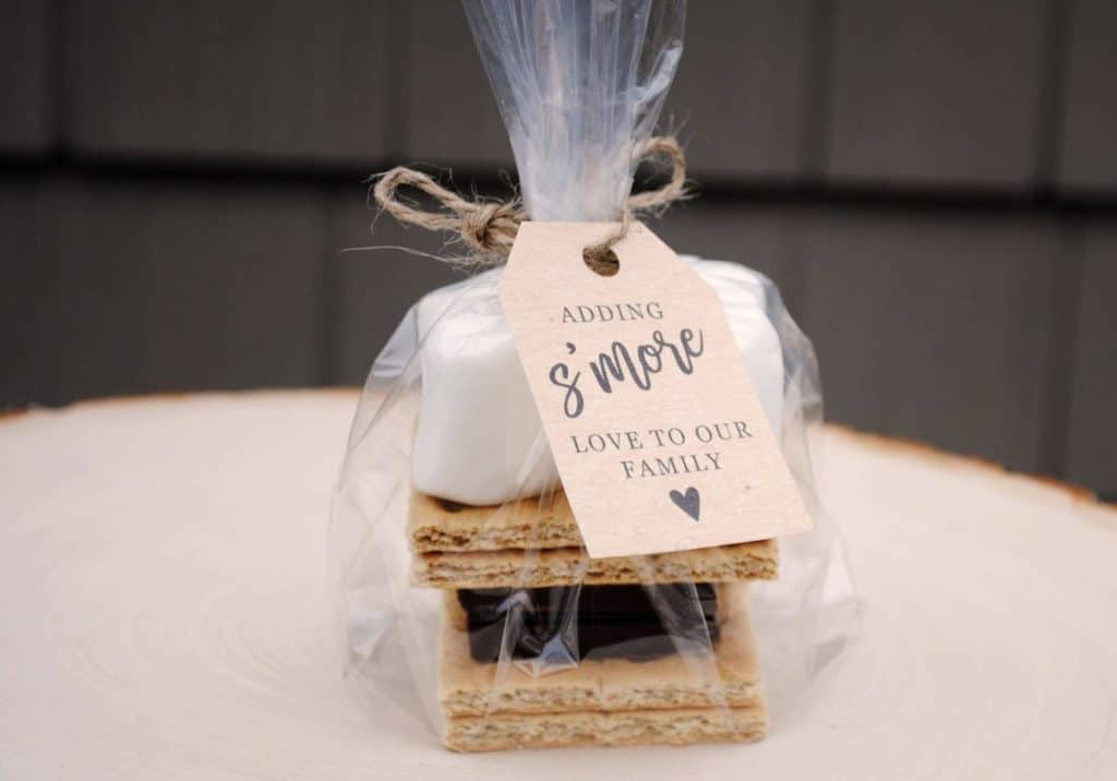 baby shower smores