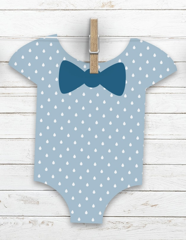 picture about Free Printable Baby Onesie Template referred to as Absolutely free Printable Kid Shower Designs Onesie Template
