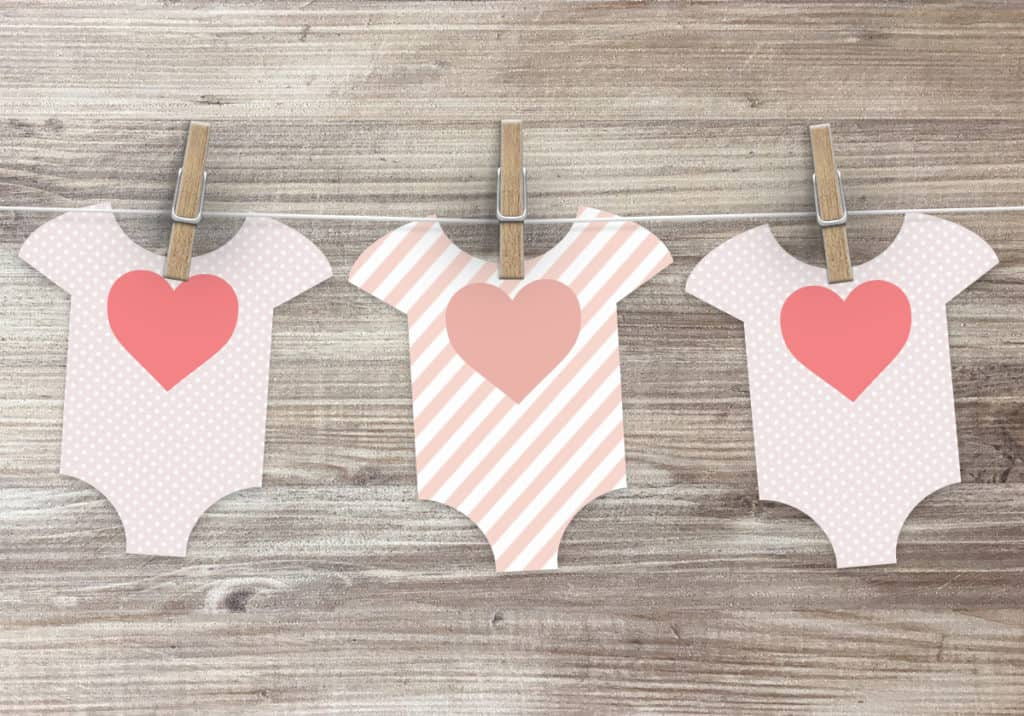 Free Printable Baby Shower Patterns Onesie Template