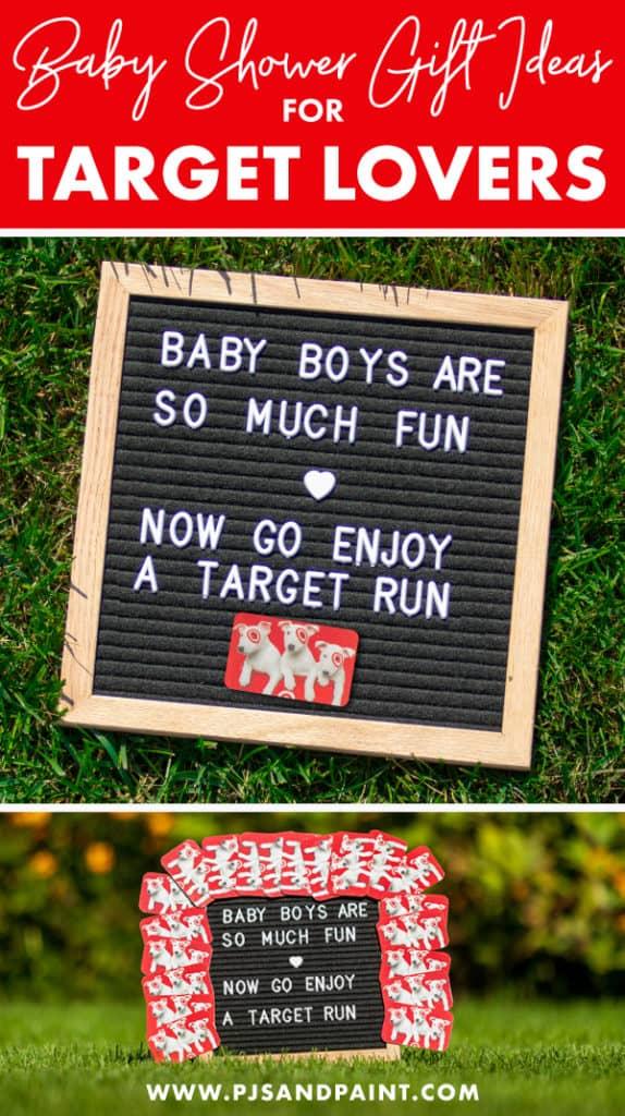 baby shower gift for target lovers pinterest