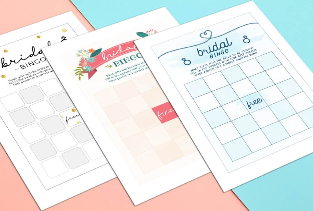 graphic relating to Printable Bridal Shower Bingo titled Pleasurable Printable Bridal Shower Bingo Playing cards Free of charge Printables