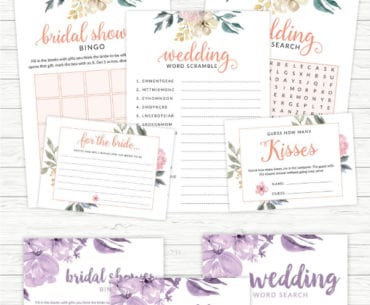 floral bridal shower pinterest
