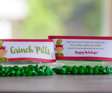 free printable grinch pills