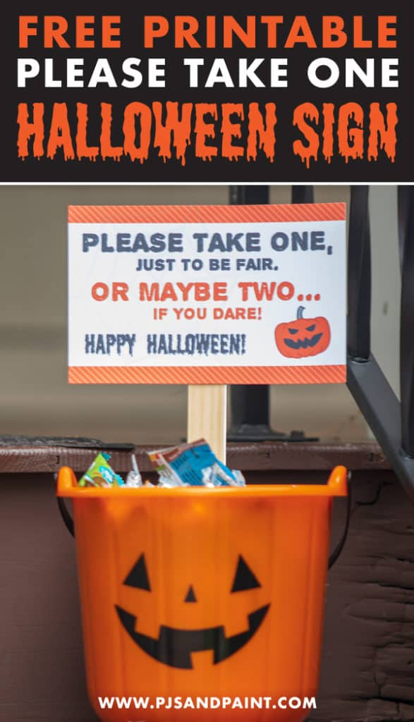 pinterest halloween sign
