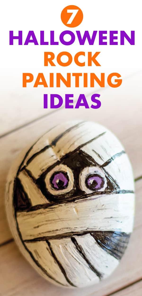 7 halloween rock painting ideas