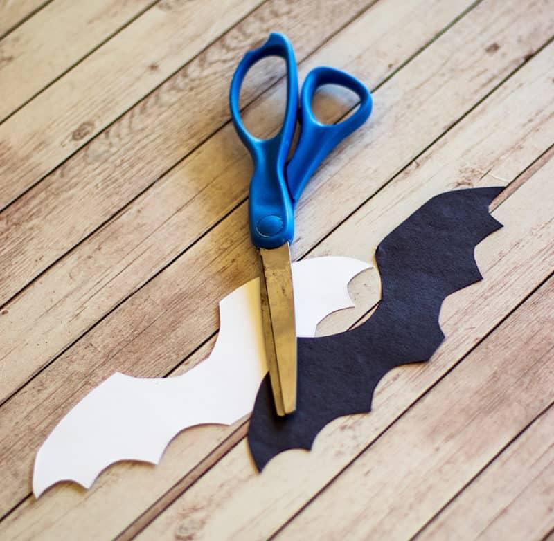 bat wing template