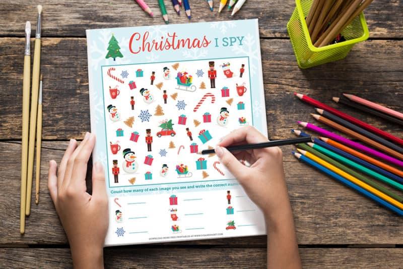 christmas i spy mockup