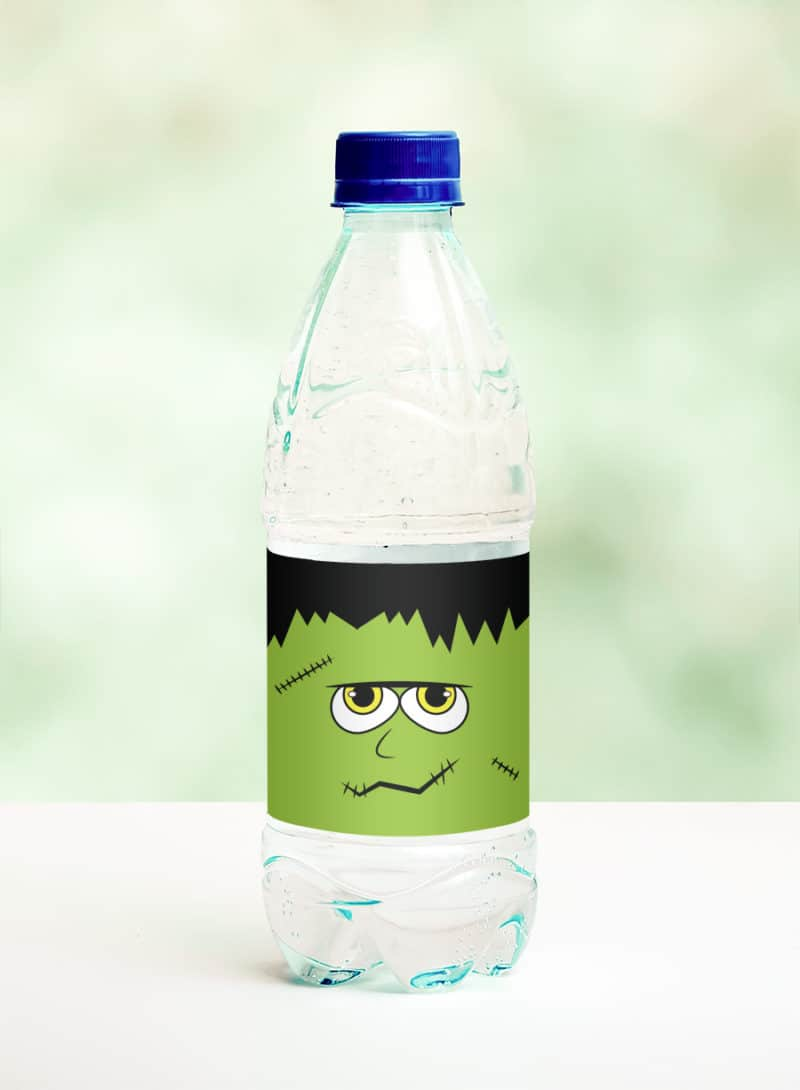 frankenstein water bottle