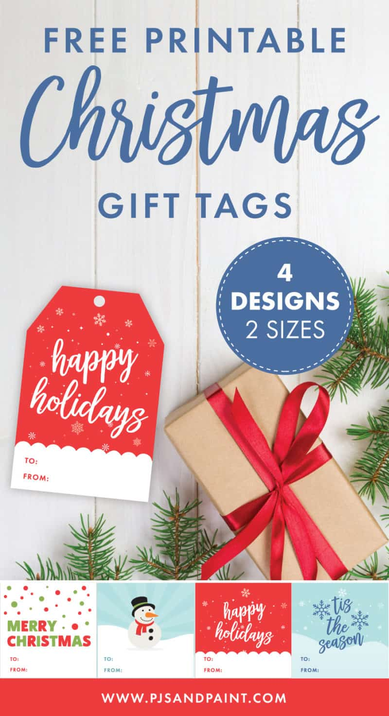 free printable christmas gift tags pinterest