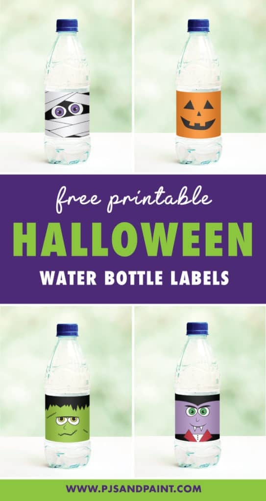 free printable halloween labels pinterest