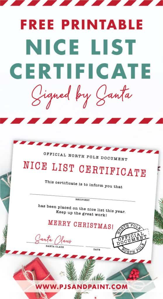 nice list certificate pinterest