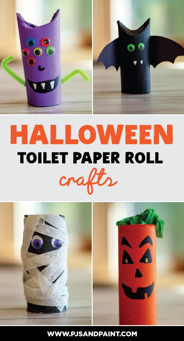 halloween toilet paper roll crafts pinterest