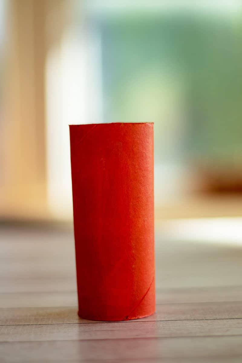 orange paper roll