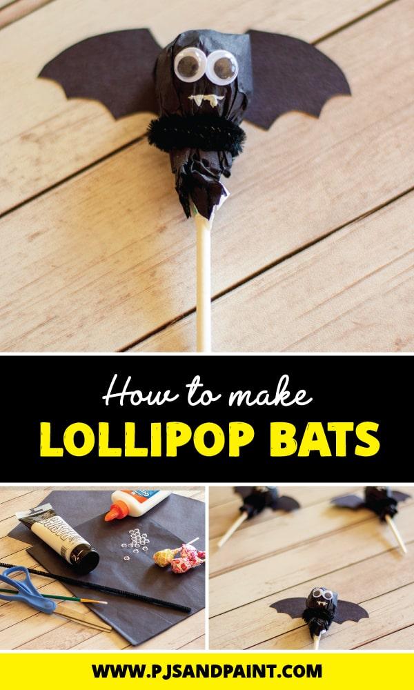pinterest lollipop bats