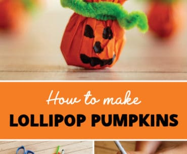 pinterest lollipop pumpkin