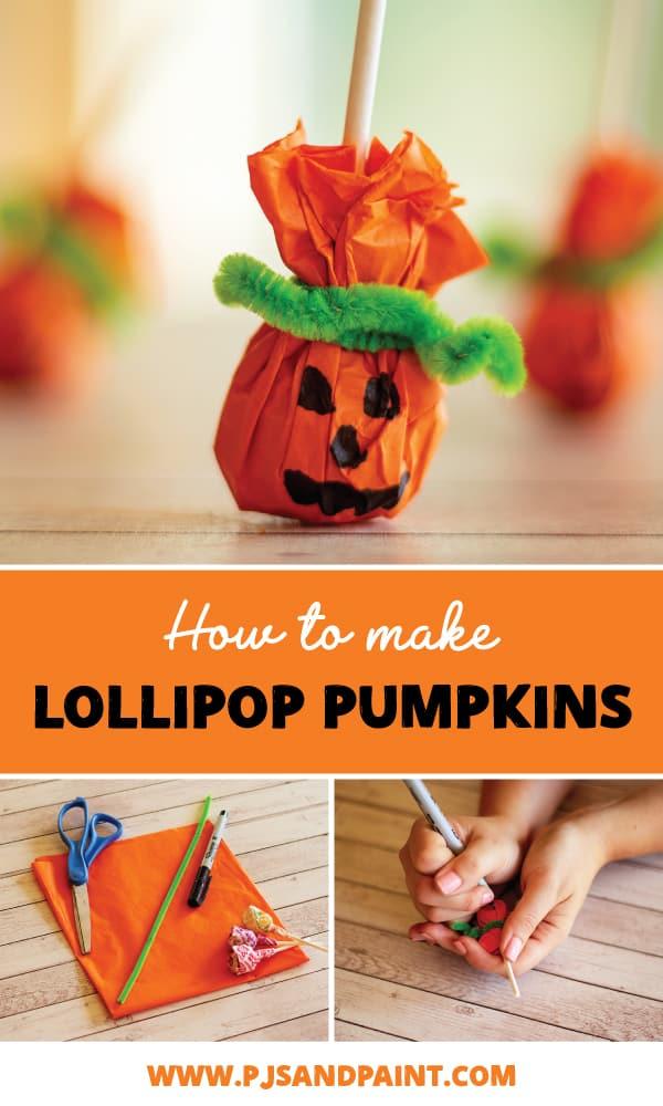 pinterest lollipop pumpkin