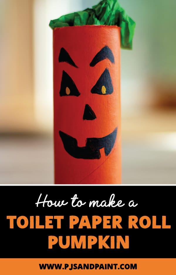 pinterest toilet paper roll pumpkin