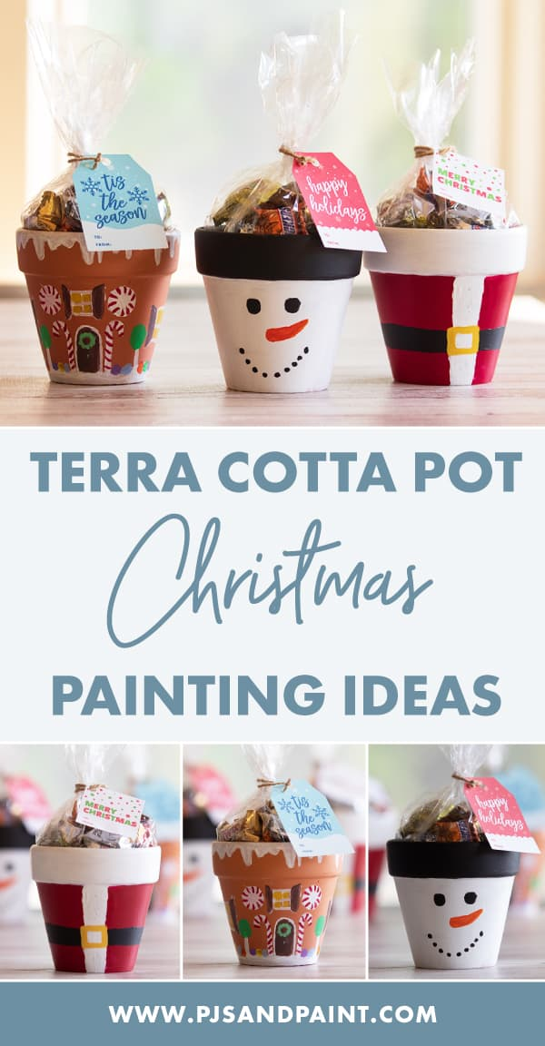 terra cotta pot christmas pinterest