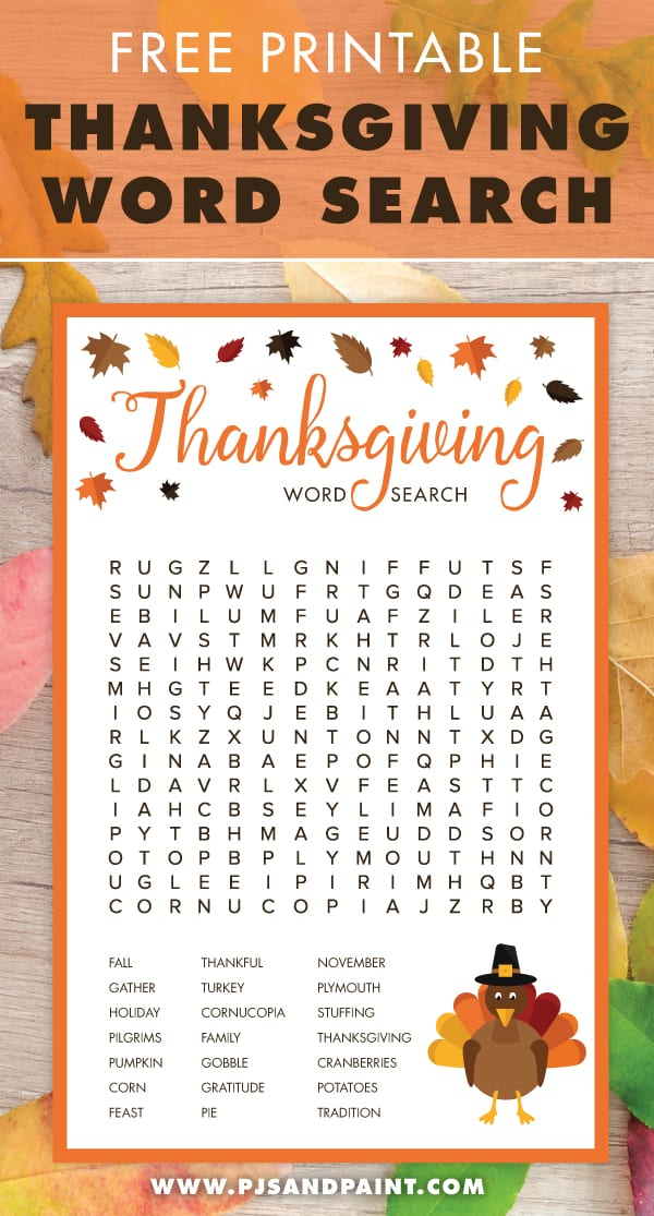 Maze Class Thanksgiving Party Discounted Five Pack Word Scramble Thanksgiving Printable Games Word Search I-spy Class Party Games