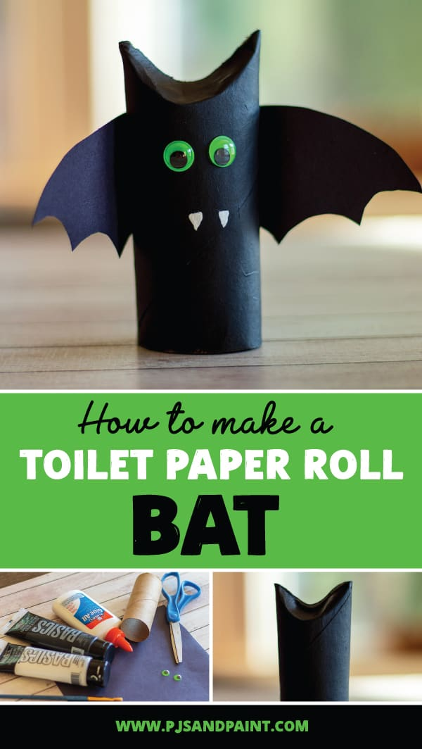 toilet paper roll bat pinterest