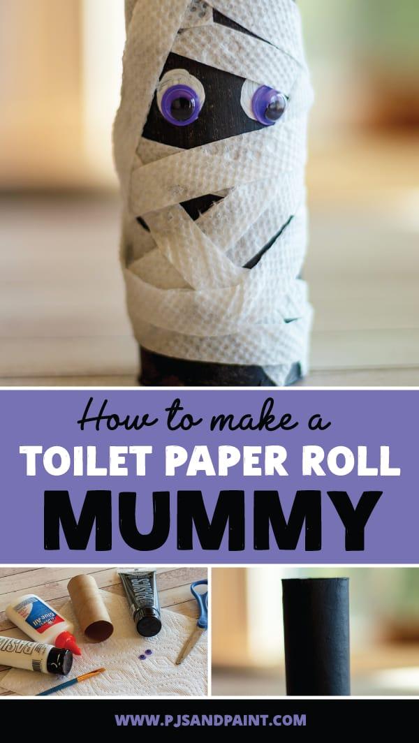 toilet paper roll mummy pinterest
