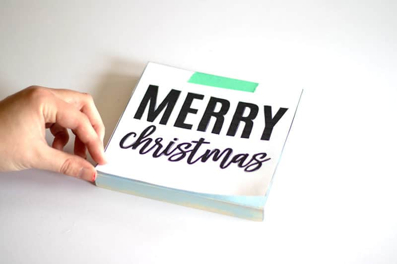 christmas sign diy