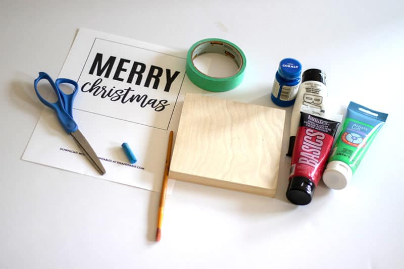christmas sign supplies