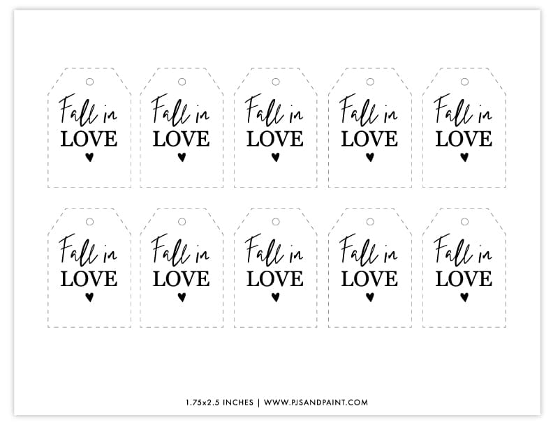 fall in love tags