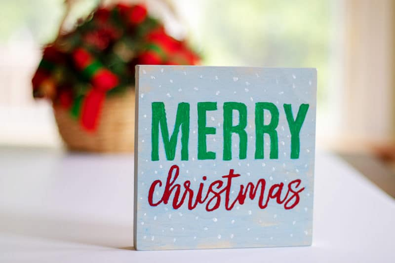 merry christmas sign final