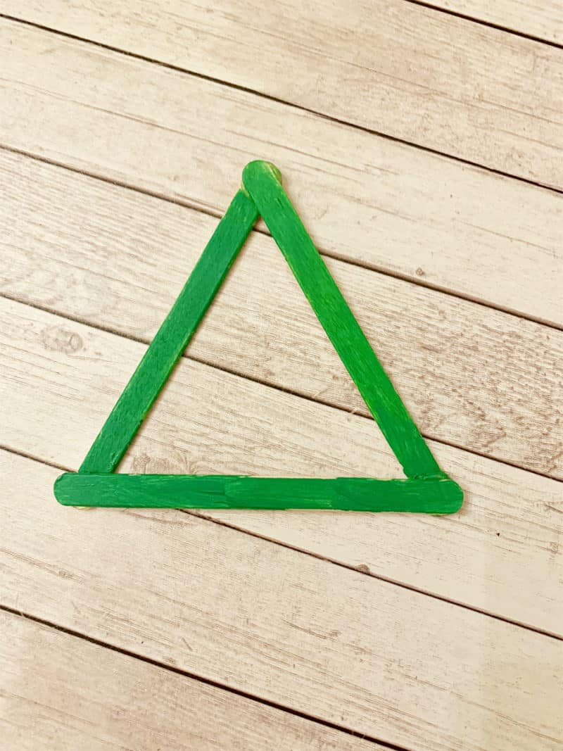 painted triangle