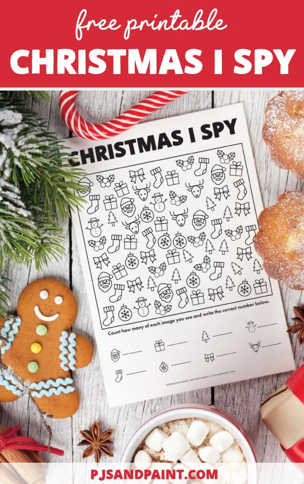 pinterest christmas i spy game