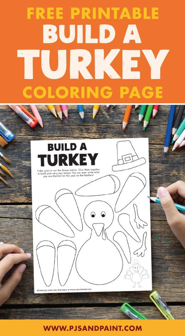 build a turkey pinterest