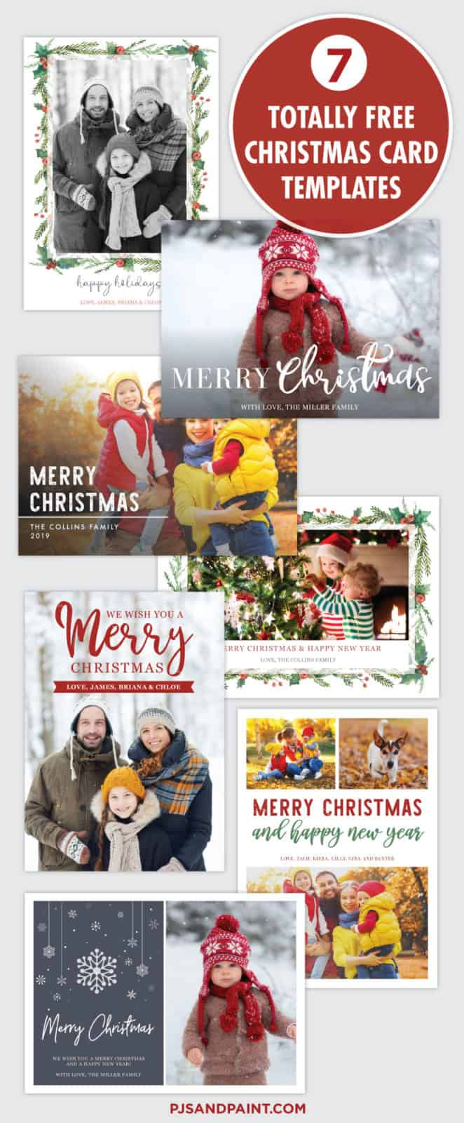 christmas card pinterest