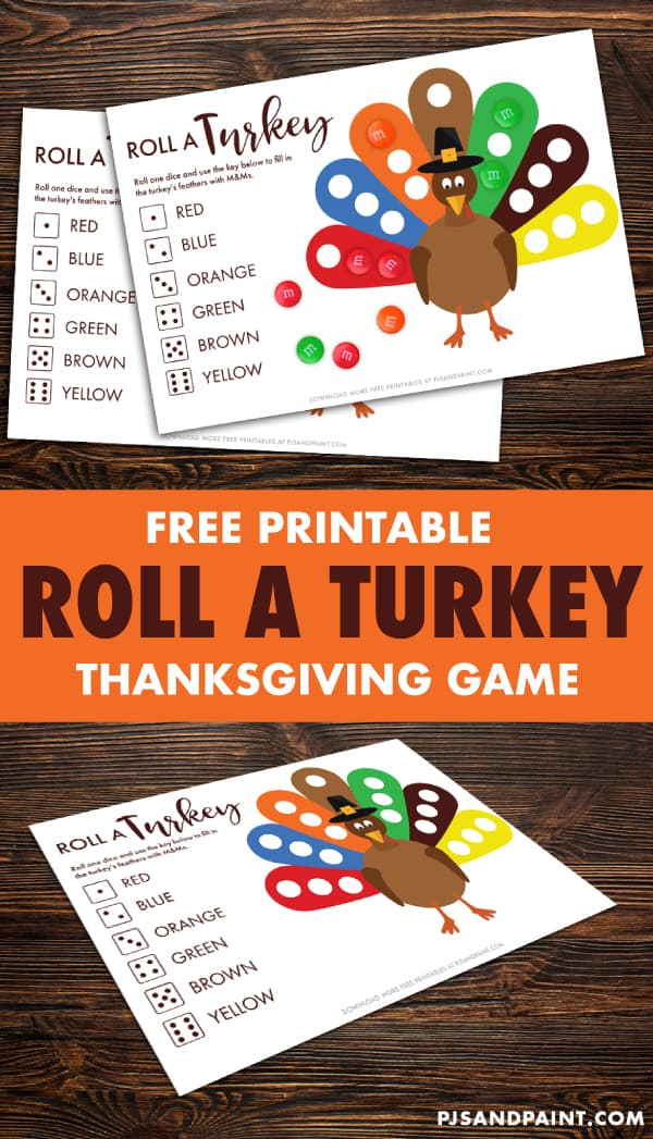 roll a turkey pinterest