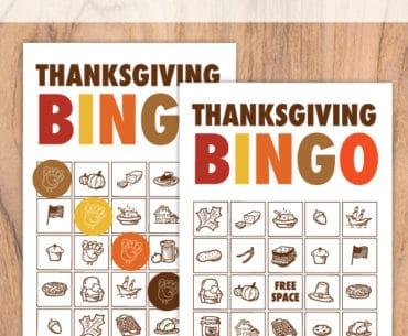 thanksgiving bingo pinterest