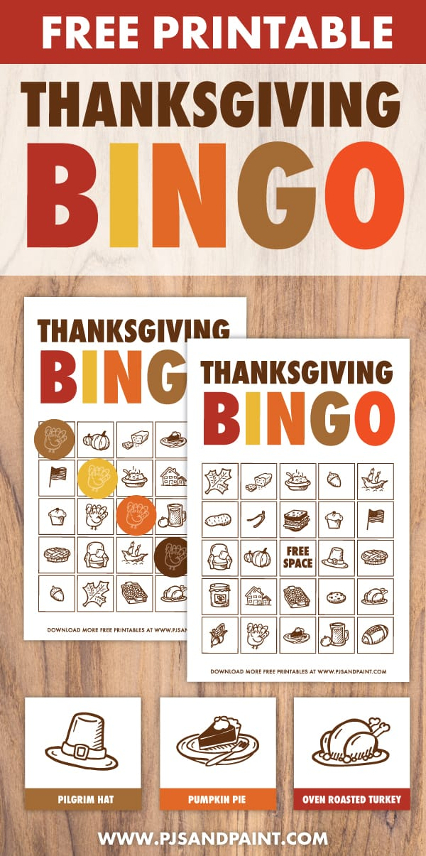 thanksgiving bingo pinterest