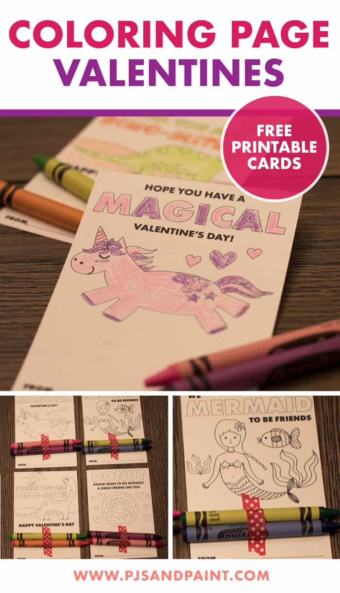 coloring page valentines