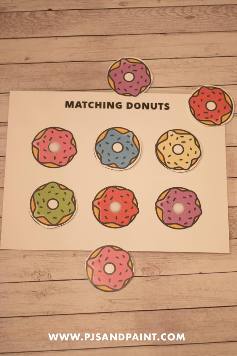 donut velcro board