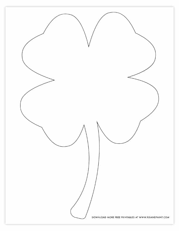 It's just an image of Shamrock Template Printable Free within 20 inch