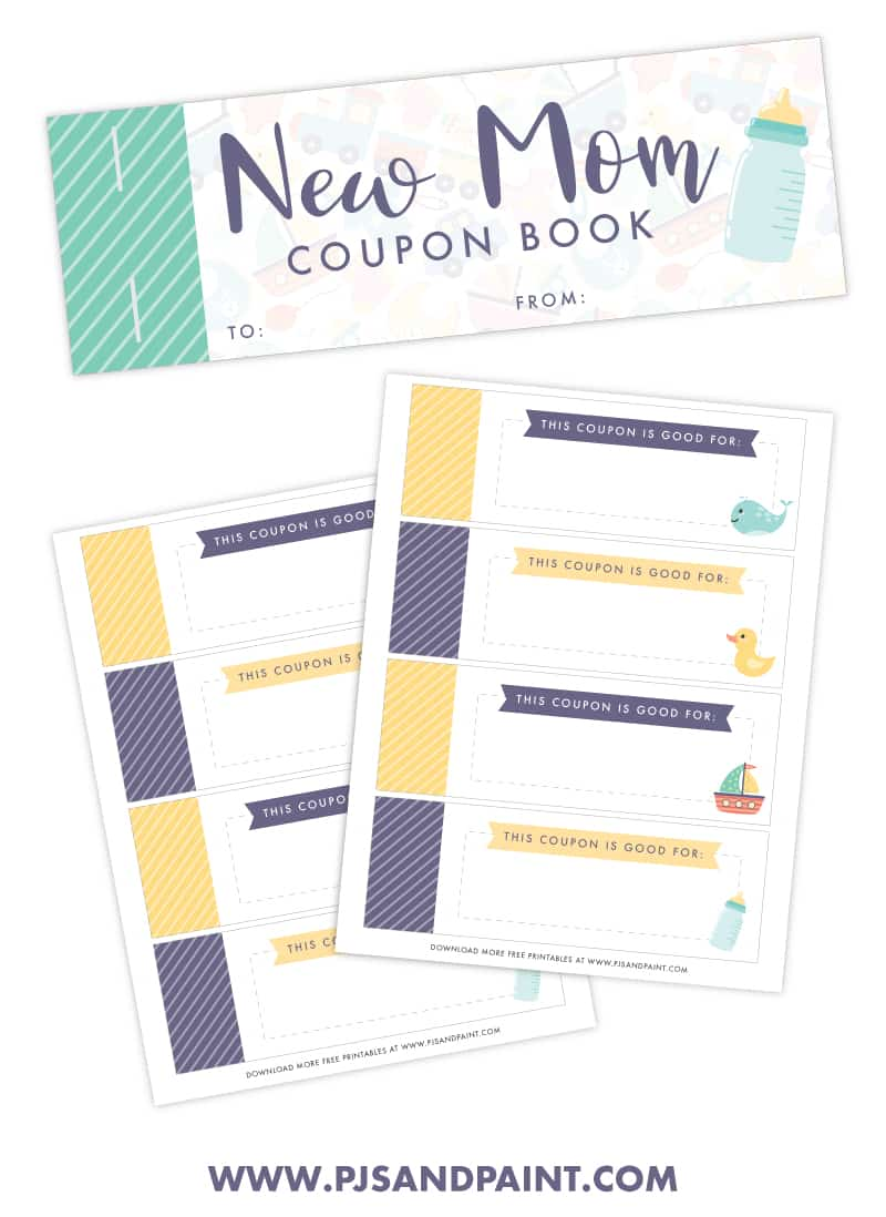 free printable new mom coupon book