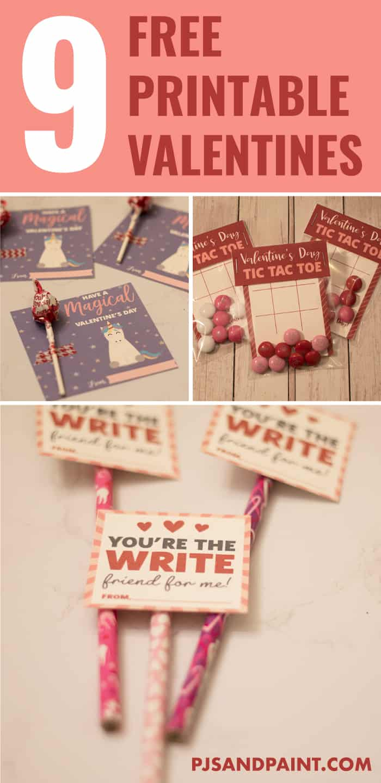 free printable valentines pinterest