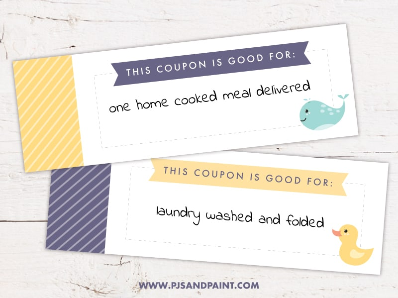 new mom coupon book sample