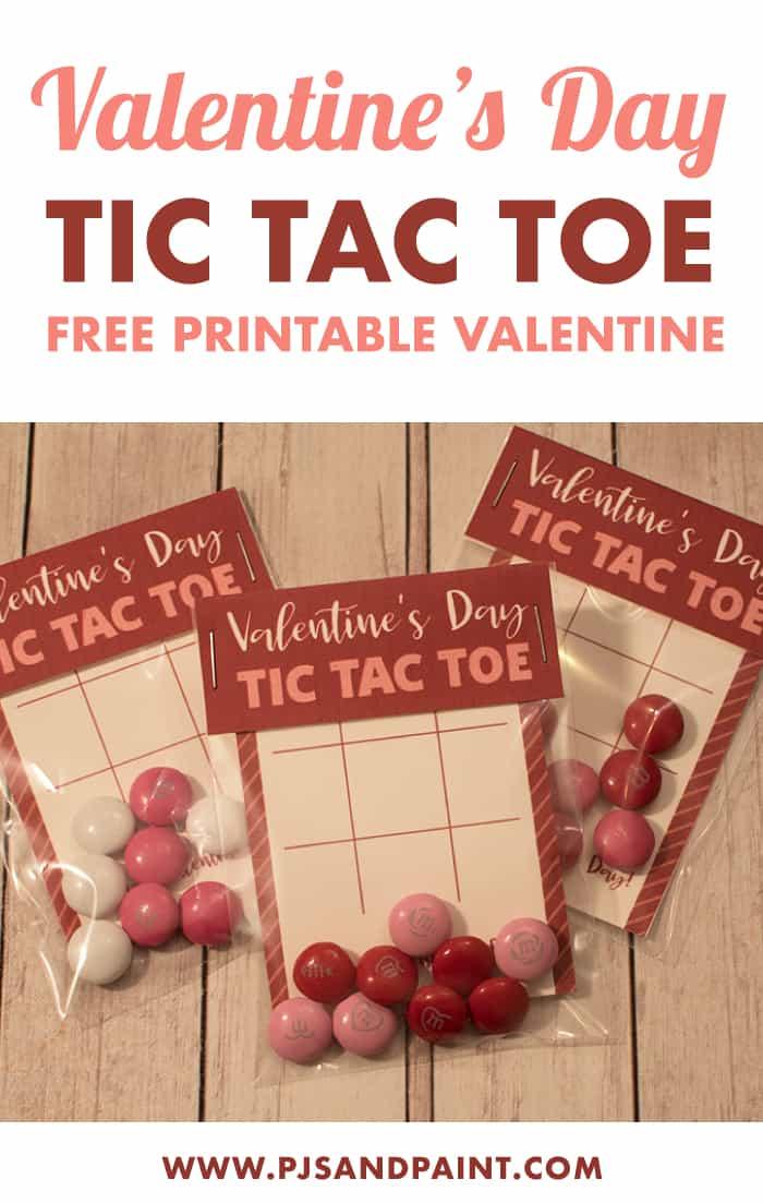 valentines day tic tac toe