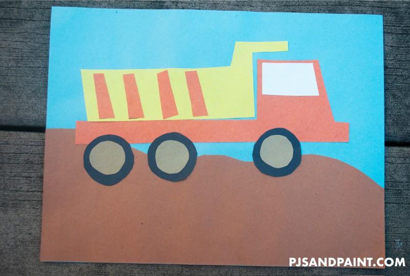dump truck main