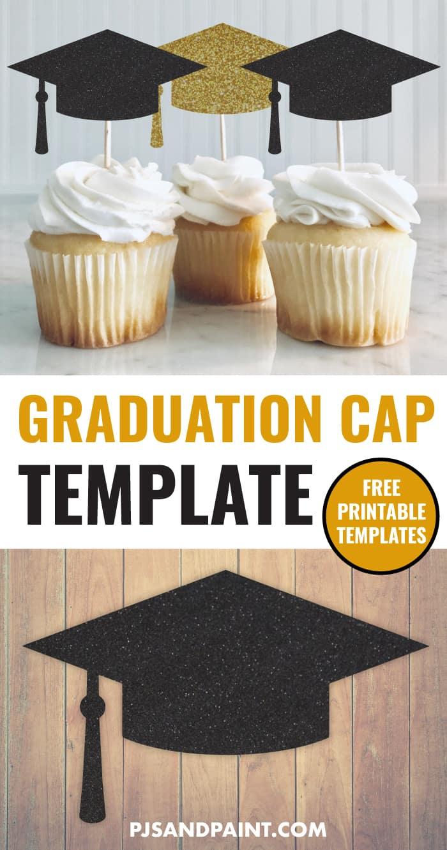 free printable graduation cap template