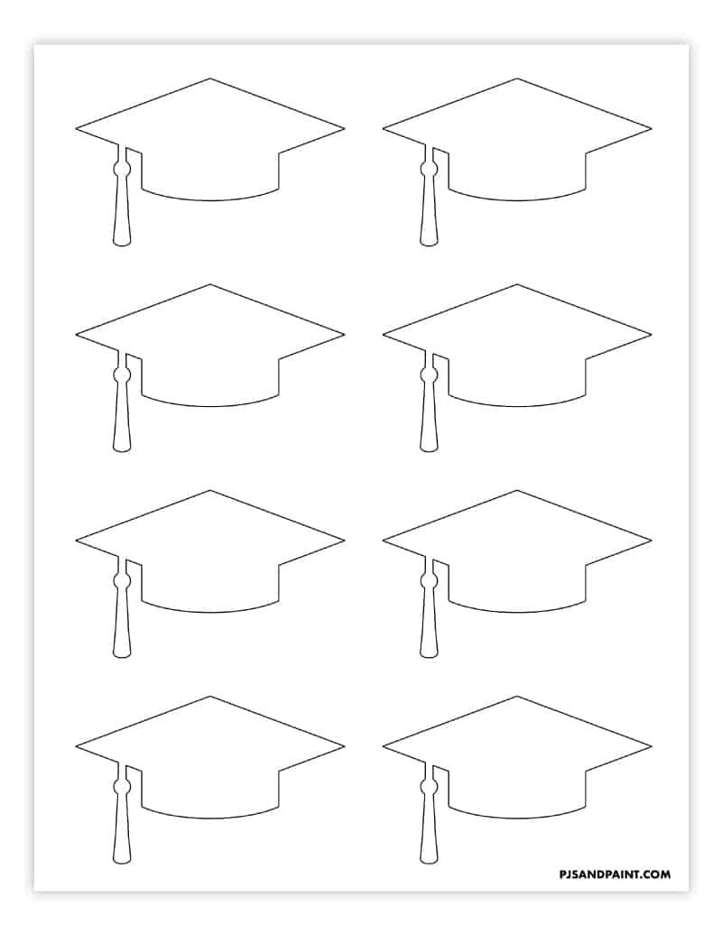 graduation cap small