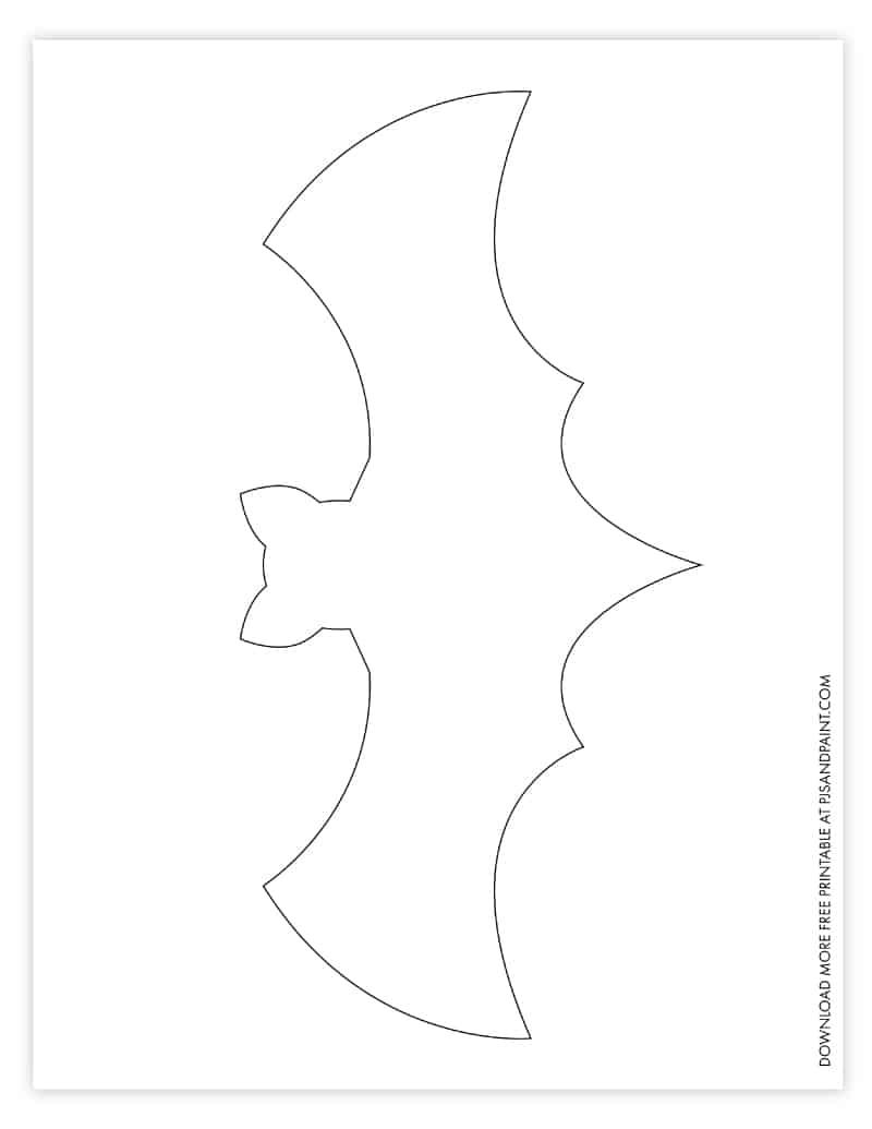 large bat template